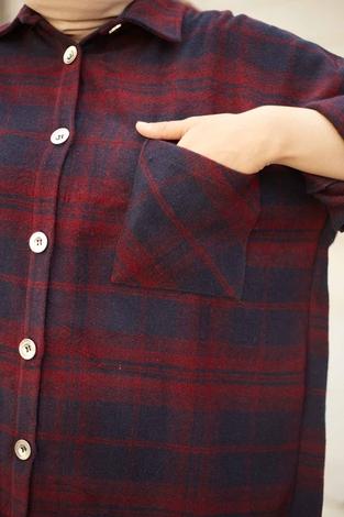 SAG Krevreze Cepli Oduncu Gömlek 61402-4 - Thumbnail