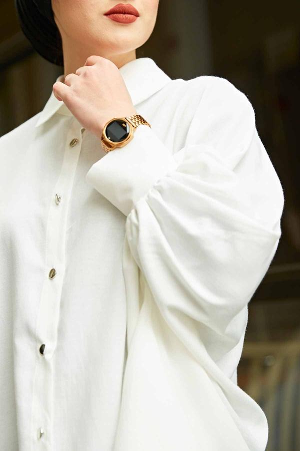 Salaş Tunik 100MD10191 Beyaz