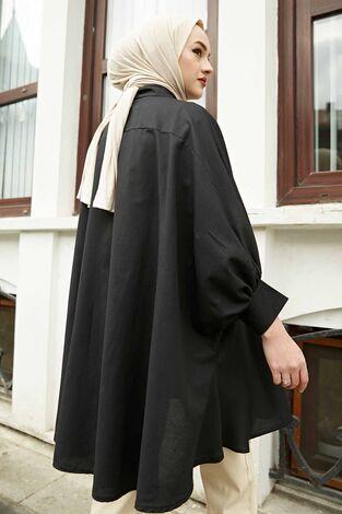 Salaş Tunik 100MD10191 Siyah - Thumbnail