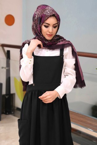 - Salopet Elbise 5065-6-siyah (1)