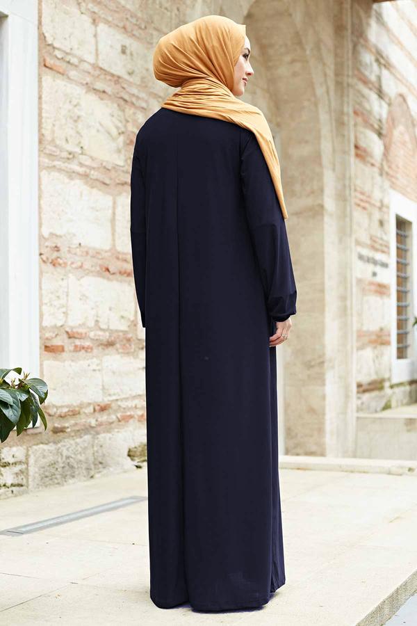 Sandy Ferace Elbise 190E-6730 Lacivert