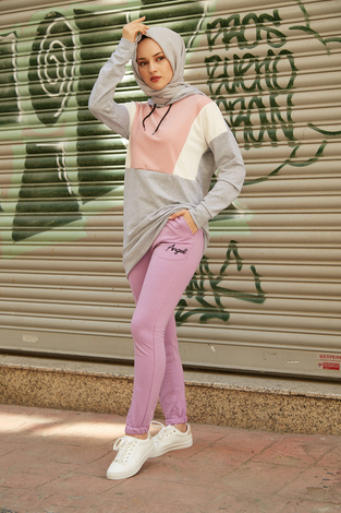 - SEM Angel Pantolon 5039-7 Lila