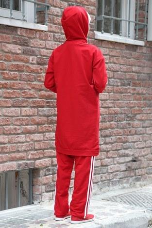 Şerit Detayli ikili Eşofman Takım 4699-05 - Thumbnail