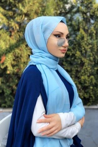 - Sim şeritli Şal 5787-37 bebe mavisi (1)