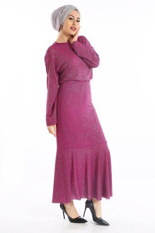 Simli Bluz Etek İkili Takım 2128 - 1 - Thumbnail