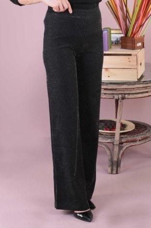- Simli Bol Pantolon 5990-1 siyah (1)