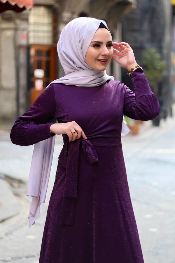 Simli Tarz Elbise 5594-2