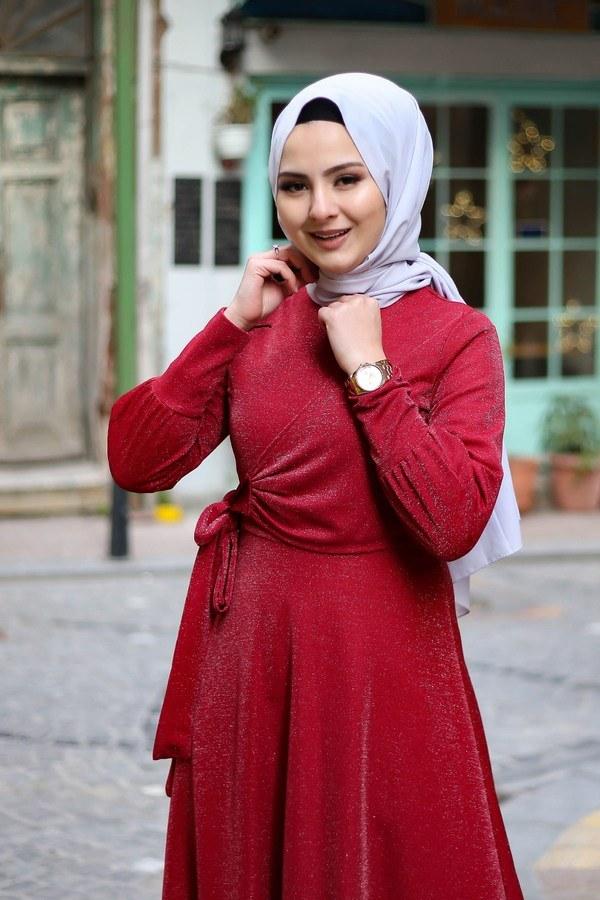 Simli Tarz Elbise 5594-4