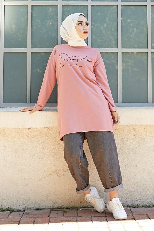 Simple Sweat-Tunik 9792-14 Gülk.