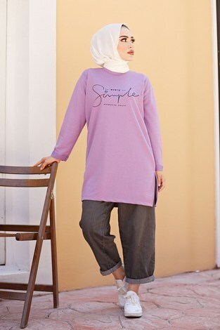 - Simple Sweat-Tunik 9792-16 Lila