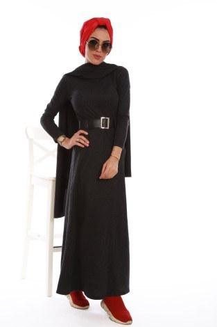 - Balık sırtı elbise 7522-01