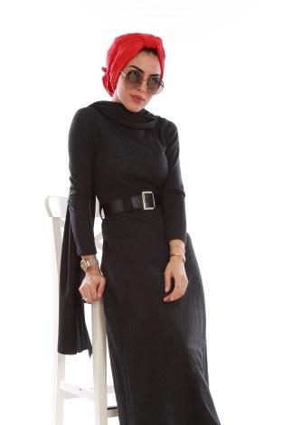 Balık sırtı elbise 7522-01 (1)