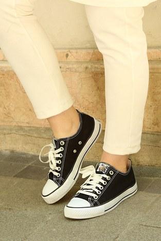 - Siyah Spor Ayakkabı 8001-2