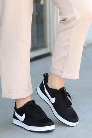 - Spor Ayakkabı 6158-1 Siyah