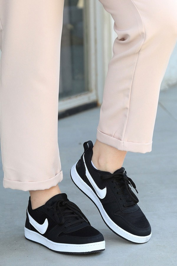 Spor Ayakkabı 6158-1 Siyah