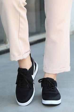 - Spor Ayakkabı 6158-1 Siyah (1)