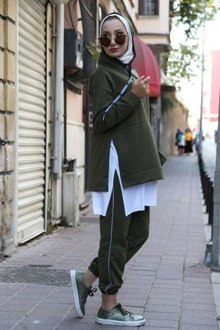 Tarz İkili Eşofman Takım 2963-04 - Thumbnail