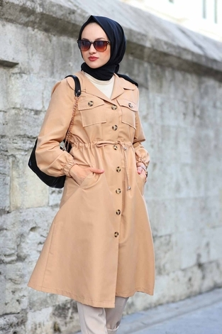 - Tarz Trenchcoat 7337-2 Vizon (1)