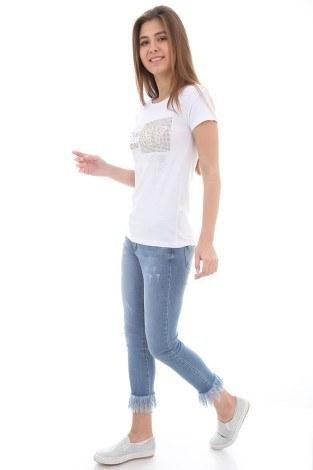 - Taş Baskılı T-Shirt 1729-2 (1)