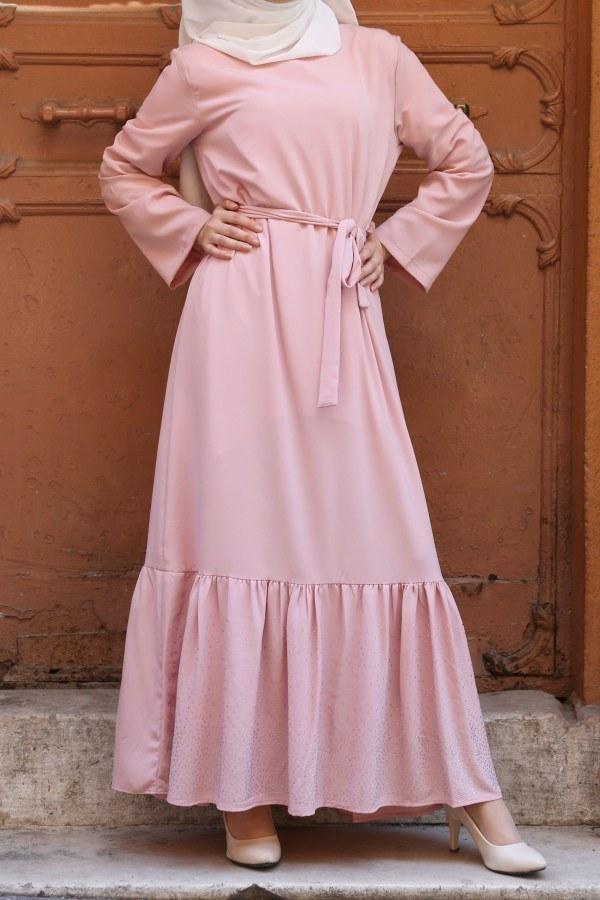 Taş Detaylı Elbise 2098-03