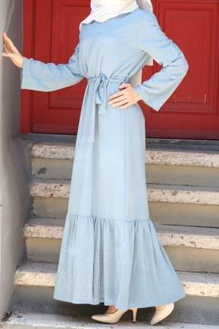 - Taş Detaylı Elbise 2098-04 (1)
