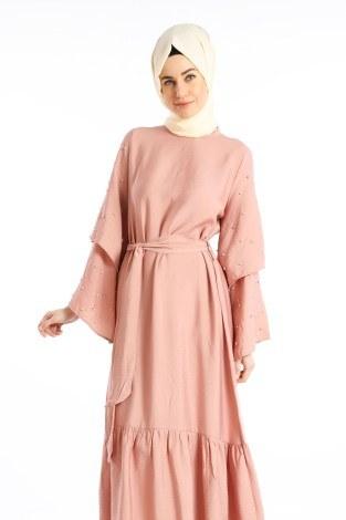 - Taş Detaylı Elbise 4076-02 (1)