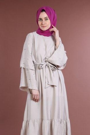 - Taş Detaylı Elbise 4076-04 (1)