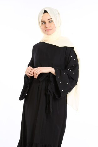 - Taş Detaylı Elbise 4076-05 (1)