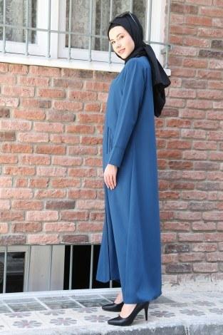 Taşlı anne ferace 732119-05 - Thumbnail