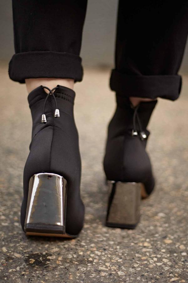 Taylor Çorap Bot 3523 Siyah