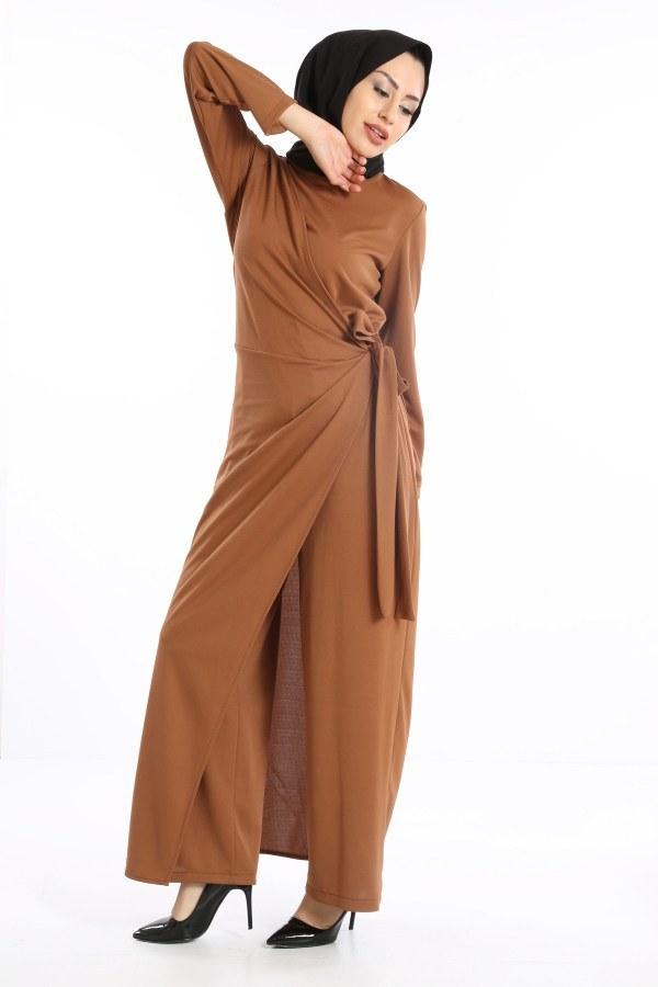 Tesettür Tulum Elbise 5558-04