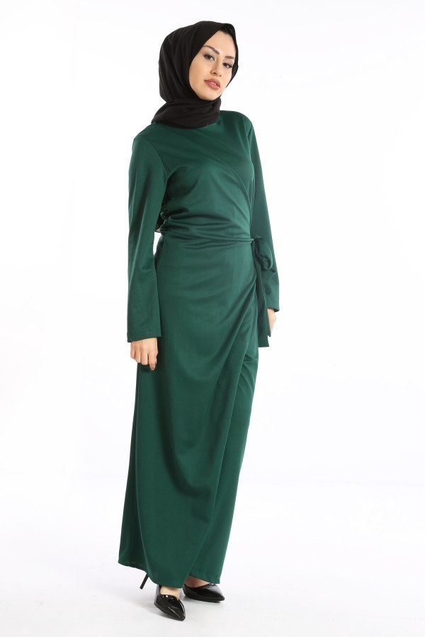 Tesettür Tulum Elbise 5558-05