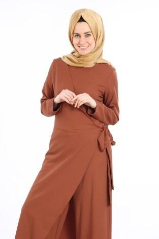 - Tesettür Tulum Elbise 5558-07 (1)