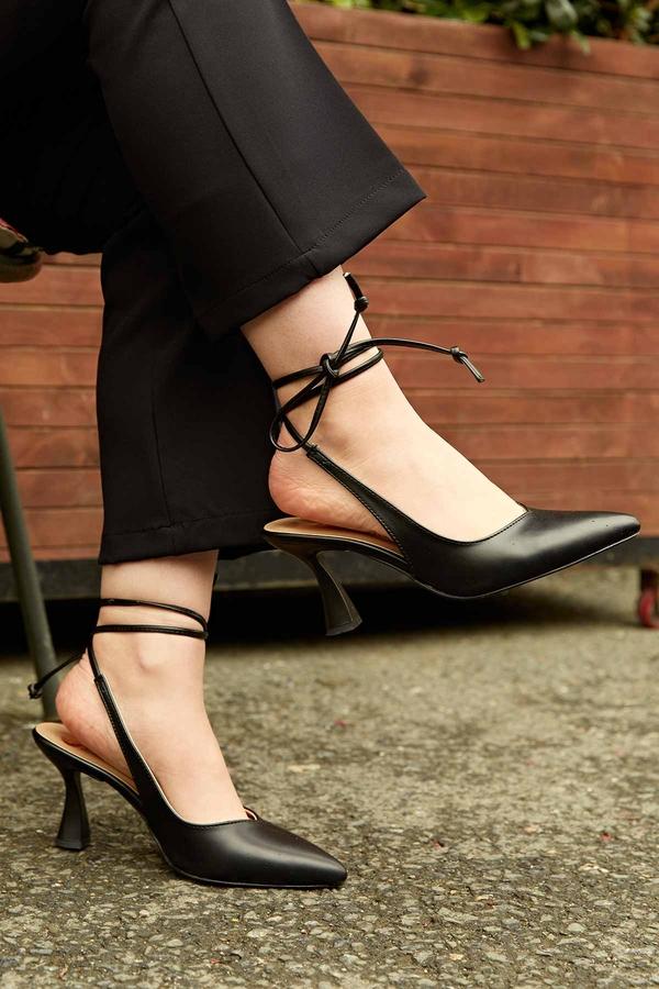 Topuklu Ayakkabı 190E-3989 Siyah