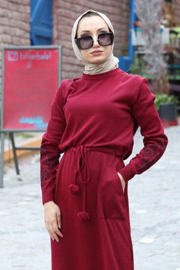Triko Elbise 1050-05