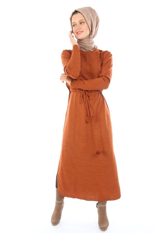 Triko Elbise 1060-16