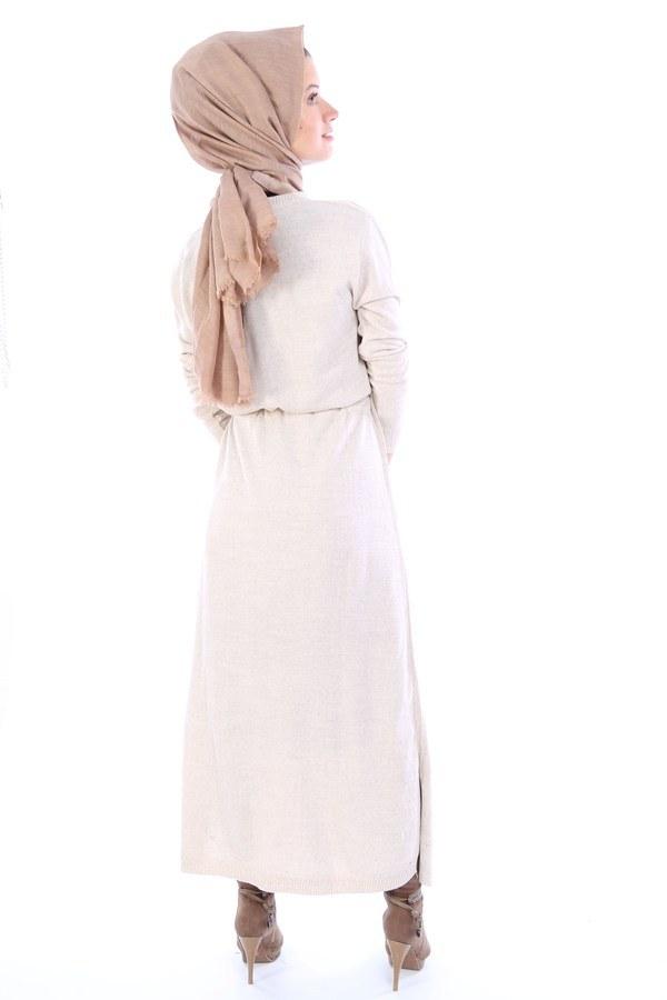 Triko Elbise 1060-11