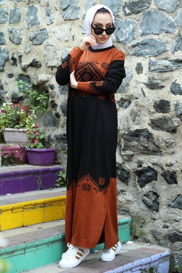 Triko Elbise 1030-16