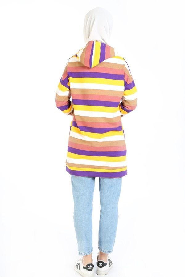 Renk Katmanlı Tunik 6020-01