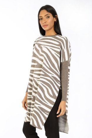 - Zebra Desen Panço Kazak 7709-18 vizon (1)
