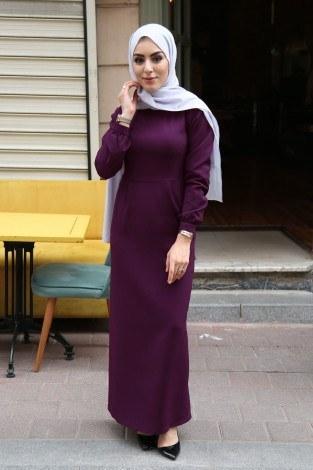 - Uzun Kalem Elbise 666666-27 (1)