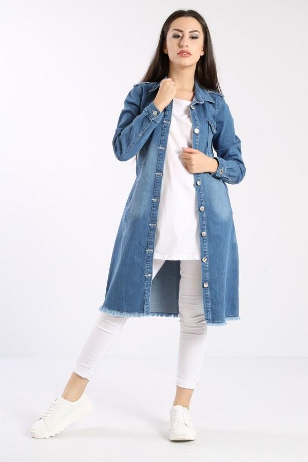 Uzun Kot Ceket 0550-2