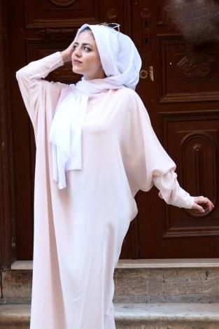 - Yarasa Kol Ferace Elbise 5676-12 (1)