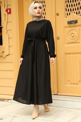 Yarasa Kol Mevlana Elbise 081019-1 - Thumbnail