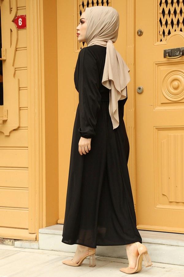 Yarasa Kol Mevlana Elbise 081019-1