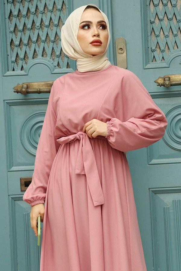 Yarasa Kol Mevlana Elbise 081019-2