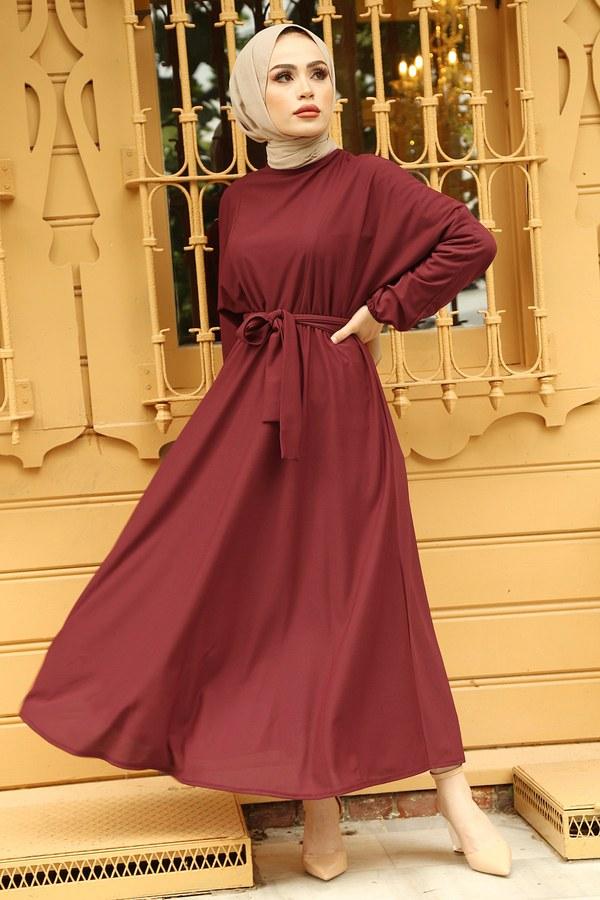 Yarasa Kol Mevlana Elbise 081019-6