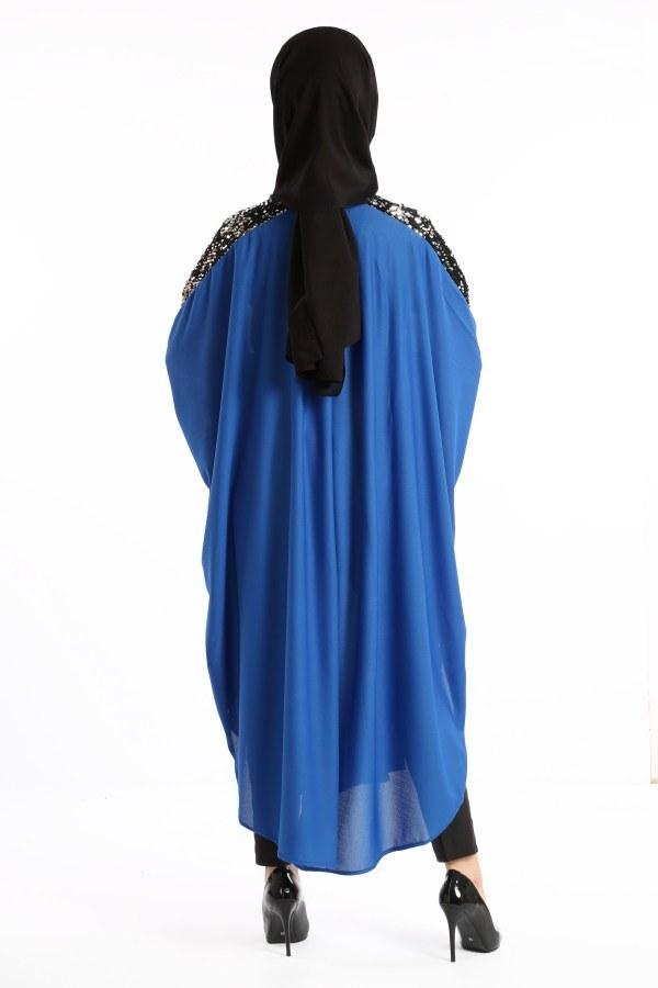 Yarasa Kol Pul Payetli Tunik 1149-02