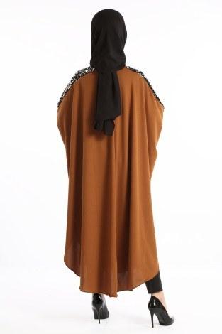 Yarasa Kol Pul Payetli Tunik 1149-03 - Thumbnail
