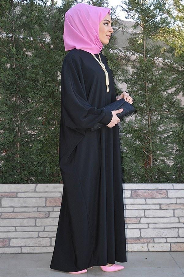 Yarasa Kol Siyah Ferace 5676-1 siyah